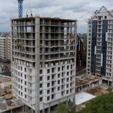 """Ход строительства ЖК """"Люксембург"""" ІІІ очередь, Сентябрь 2021"""