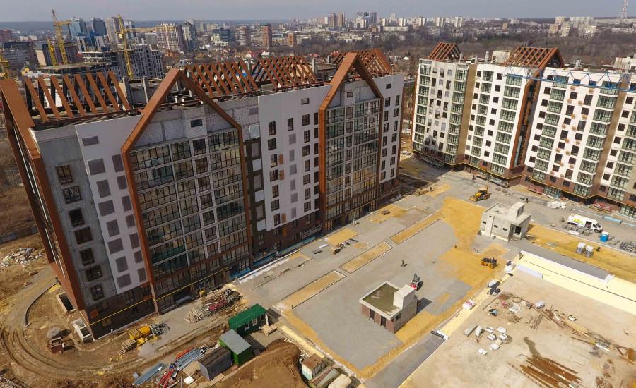 """Ход строительства ЖК """"Люксембург"""" ІІ очередь, Март 2021"""