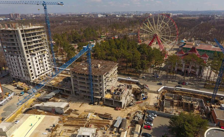 """Ход строительства ЖК """"Люксембург"""" ІІІ очередь, Март 2021"""