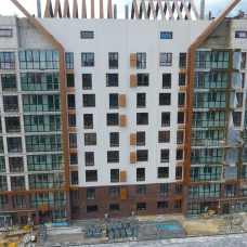 """Ход строительства ЖК """"Люксембург"""" ІІ очередь, Июнь 2021"""