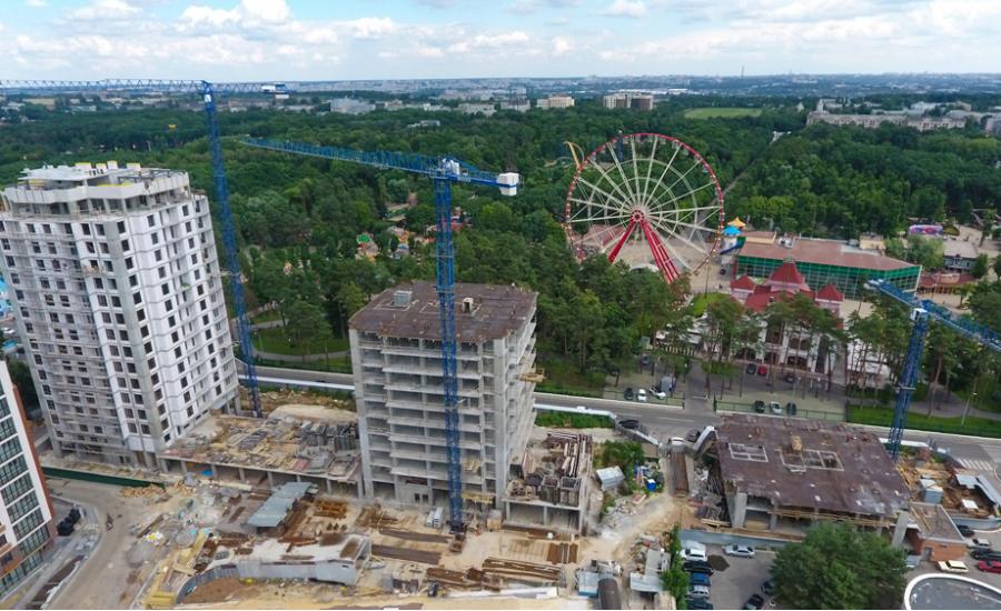 """Ход строительства ЖК """"Люксембург"""" ІІІ очередь, Июнь 2021"""