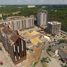 """Ход строительства ЖК """"Люксембург"""" ІІ очередь, Май 2021"""
