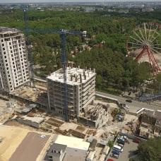 """Ход строительства ЖК """"Люксембург"""" ІІІ очередь, Май 2021"""