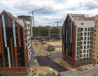"""Ход строительства ЖК """"Люксембург"""" І очередь, Апрель 2021"""