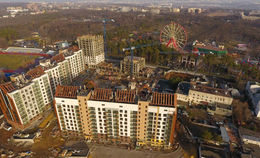 """Ход строительства ЖК """"Люксембург"""" ІІ очередь, Февраль 2021"""