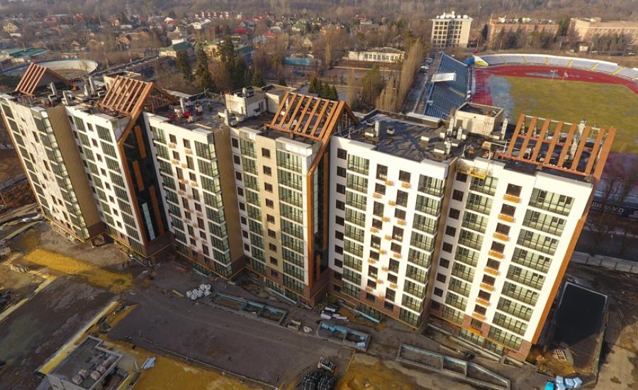 "Ход строительства ЖК ""Люксембург"" І очередь, Февраль 2021"