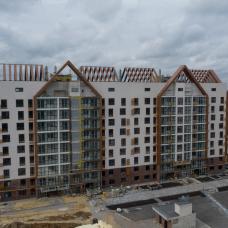 """Ход строительства ЖК """"Люксембург"""" ІІ очередь, Август 2021"""