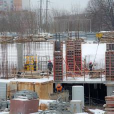 Ход строительства ЖК «Люксембург» (2 очередь). Февраль 2018. Фото.