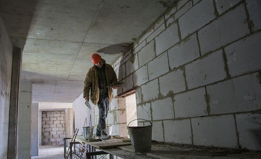 Ход строительства ЖК «Люксембург» (1 очередь). Март 2018. Фото.