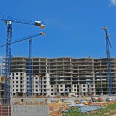 Ход строительства ЖК «Люксембург» (1 очередь). Июнь 2018. Фото.