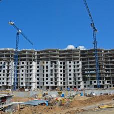 Ход строительства ЖК «Люксембург» (1 очередь). Август 2018. Фото.