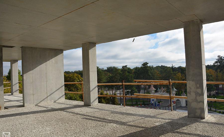 Ход строительства ЖК «Люксембург» (1 очередь). Октябрь 2018. Фото.