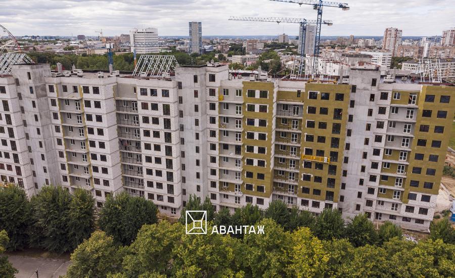 """Ход строительства ЖК """"Люксембург"""" I очередь, август 2019"""