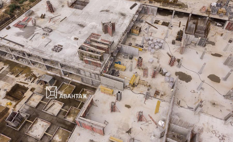 "Ход строительства ЖК ""Люксембург""  II очередь, август 2019"