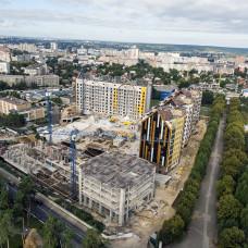 "ЖК ""Люксембург-1"" - ход строительства август 2020"