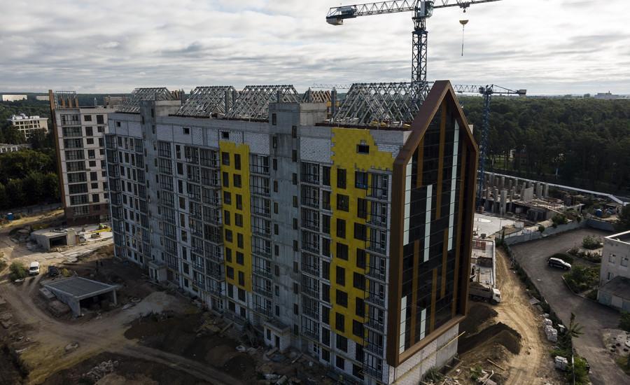 "ЖК ""Люксембург-2"" - ход строительства август 2020"