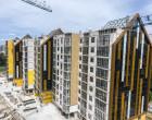"Ход строительства ЖК ""Люксембург"" І очередь, июнь 2020"