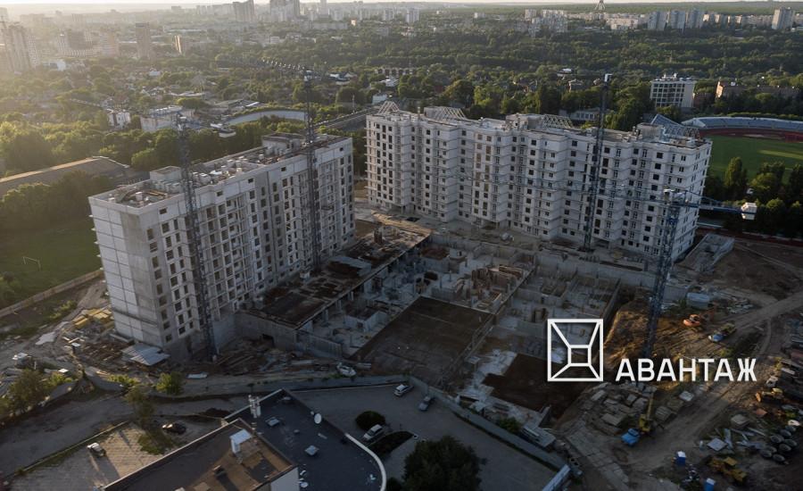 """Ход строительства ЖК """"Люксембург"""" I очередь, май 2019"""