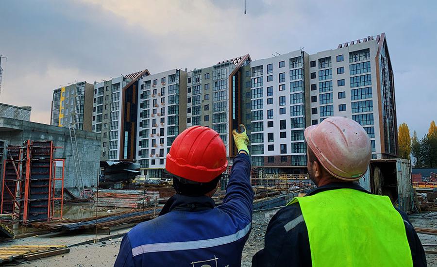 "Ход строительства ЖК ""Люксембург"" І очередь, Ноябрь 2020"