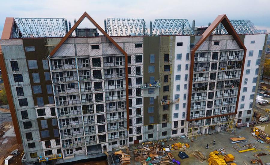 """Ход строительства ЖК """"Люксембург"""" ІІ очередь, Ноябрь 2020"""