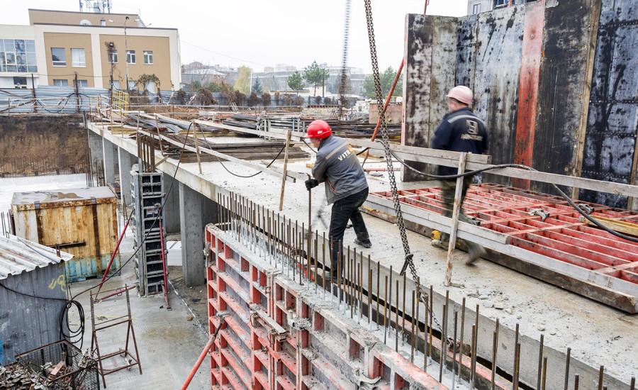 """Ход строительства ЖК """"Люксембург""""  II очередь, ноябрь 2019"""