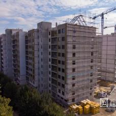 """Ход строительства ЖК """"Люксембург""""  I очередь, октябрь 2019"""