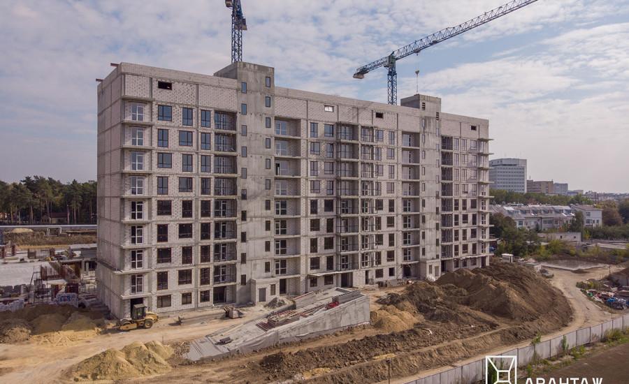 """Ход строительства ЖК """"Люксембург""""  II очередь, октябрь 2019"""