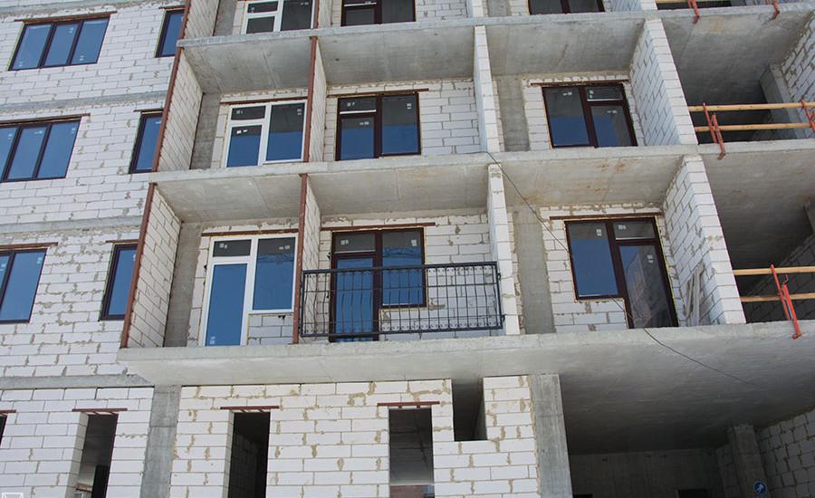 Ход строительства ЖК «Резиденция». Март 2018. Фото.