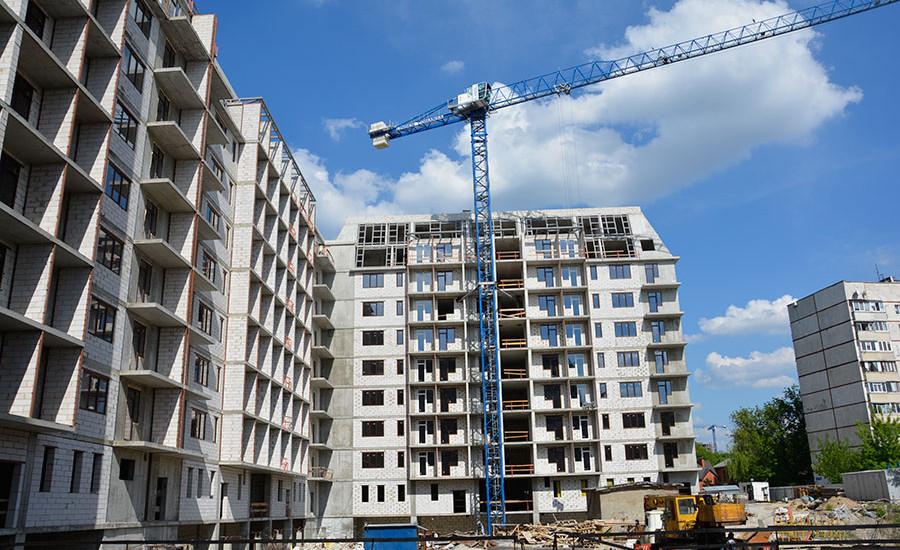 Ход строительства ЖК «Резиденция». Май 2018. Фото.