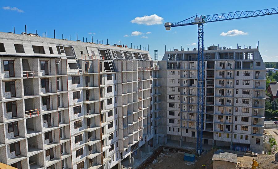 Ход строительства ЖК «Резиденция». Июль 2018. Фото.
