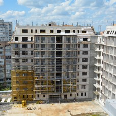 Ход строительства ЖК «Резиденция». Август 2018. Фото.