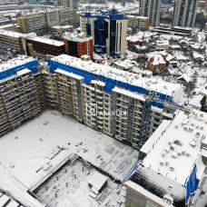 """Ход строительства ЖК """"Резиденция"""". Декабрь 2018"""