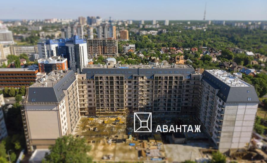 """Ход строительства ЖК """"Резиденция"""". июль 2019"""