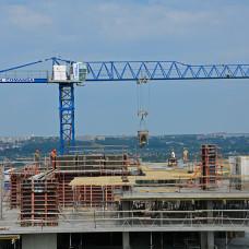 Ход строительства ЖК «Журавли». Июнь 2018. Фото