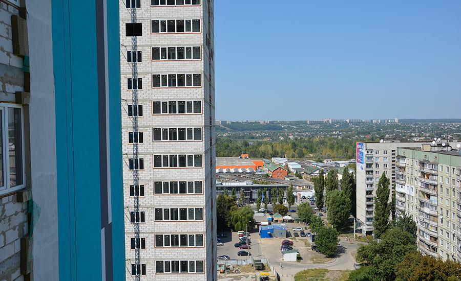 Ход строительства ЖК «Журавли». Август 2018. Фото