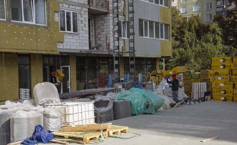 Ход строительства ЖК «Журавли» сентябрь  2019
