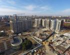 """Ход строительства ЖК """"Люксембург"""" І очередь, апрель 2020"""